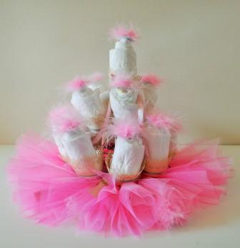 Diaper Cupcakes-ReecieDIY
